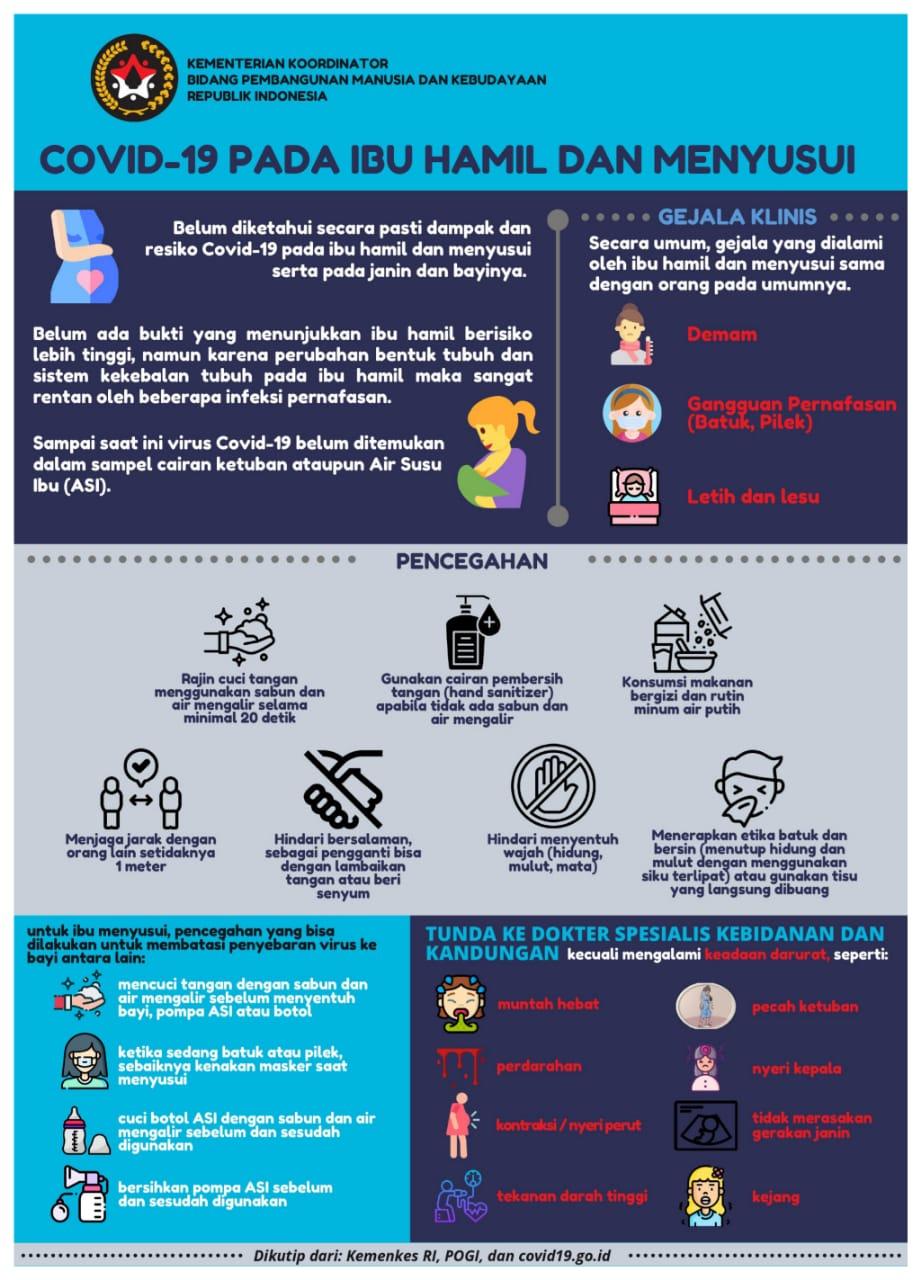 Covid 19 Pada Ibu Hamil Dan Menyusui Kementerian Koordinator Bidang Pembangunan Manusia Dan Kebudayaan